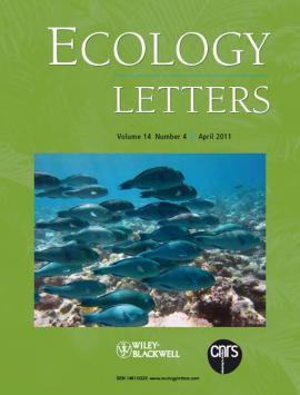 Ecology letters cover